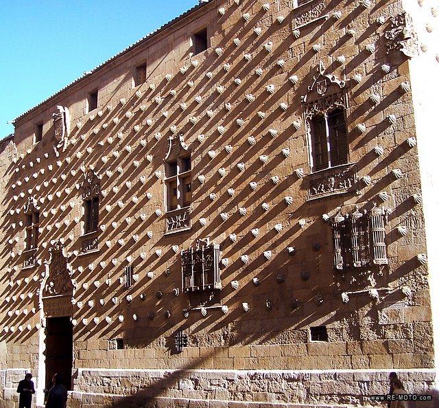 خانه صدفی سالامانکا - شهرهای اسپانیا