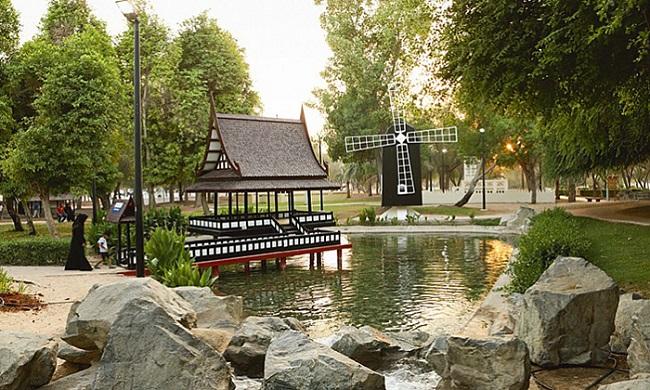 پارک مرکزی مشرف 2 - پارک مرکزی مشرف ابوظبی امارات