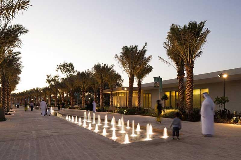 پارک مرکزی مشرف 3 - پارک مرکزی مشرف ابوظبی امارات