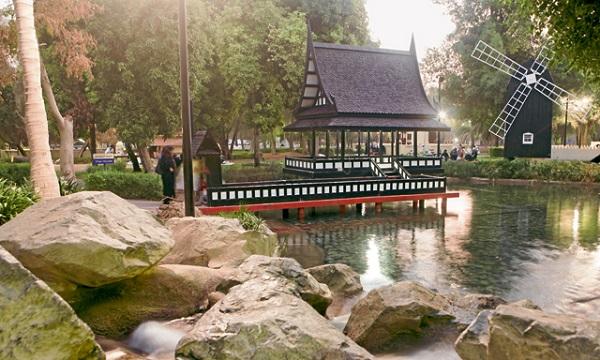 پارک مرکزی مشرف 4 - پارک مرکزی مشرف ابوظبی امارات