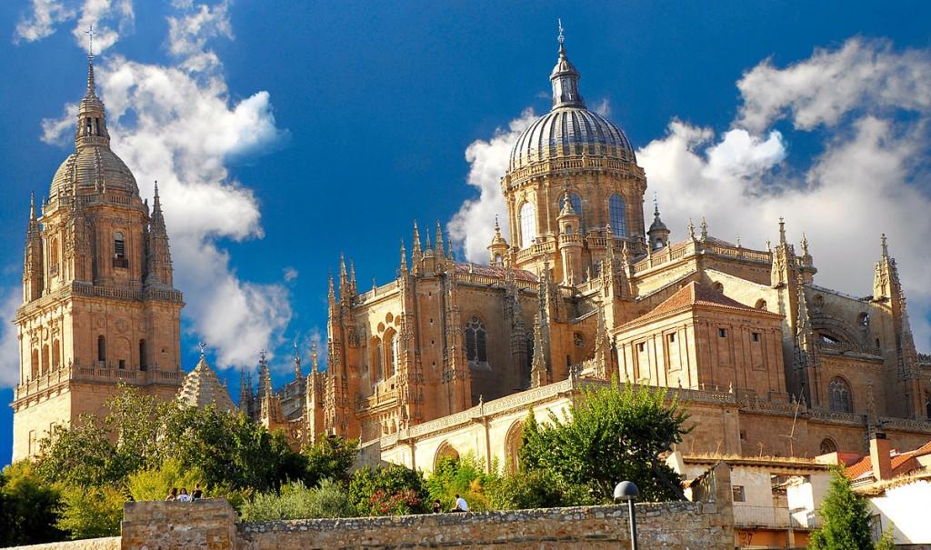 کلیسای جدید سالامانکا - شهرهای اسپانیا