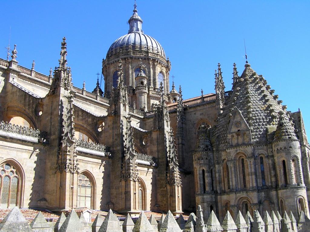 کلیسای قدیمی سالامانکا - شهرهای اسپانیا