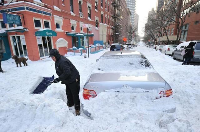 کولاک برف در امریکا - تلفات بارش سنگین برف در آمریکا