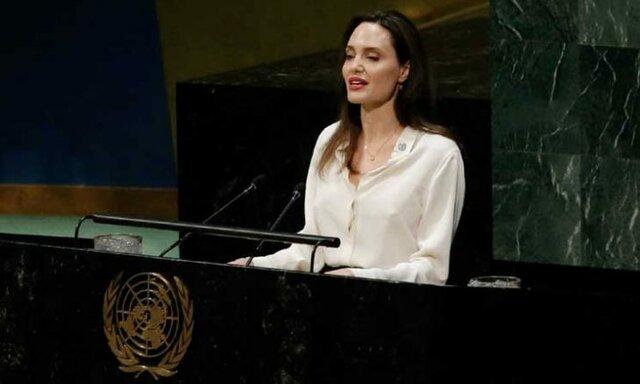 درخواست آنجلینا جولی 1 - درخواست آنجلینا جولی در سازمان ملل