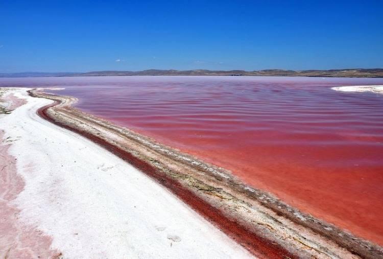 دریاچهی نمک توز 1 - دریاچه نمک توز قونیه ترکیه