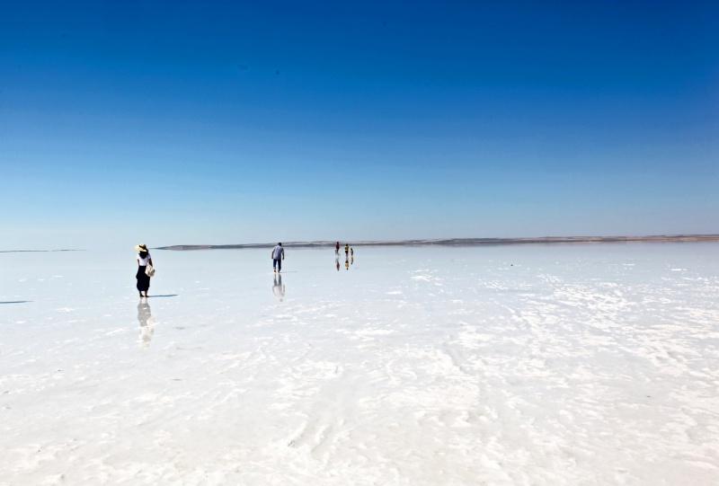 دریاچهی نمک توز 3 - دریاچه نمک توز قونیه ترکیه