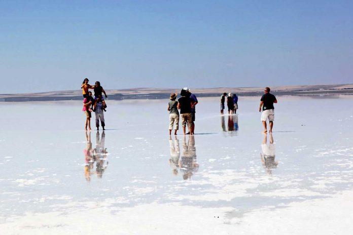 دریاچه نمک توز قونیه ترکیه