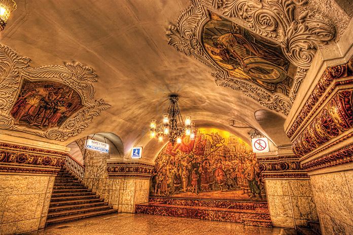 متروی مسکو 2 - متروی مسکو روسیه