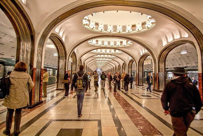 متروی مسکو 5 - متروی مسکو روسیه