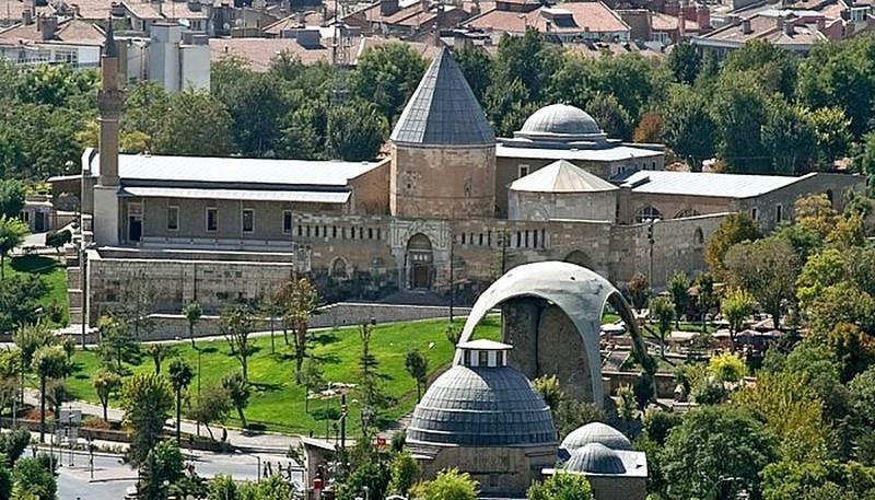 مسجد علاءالدین 1 - مسجد علاءالدین قونیه ترکیه