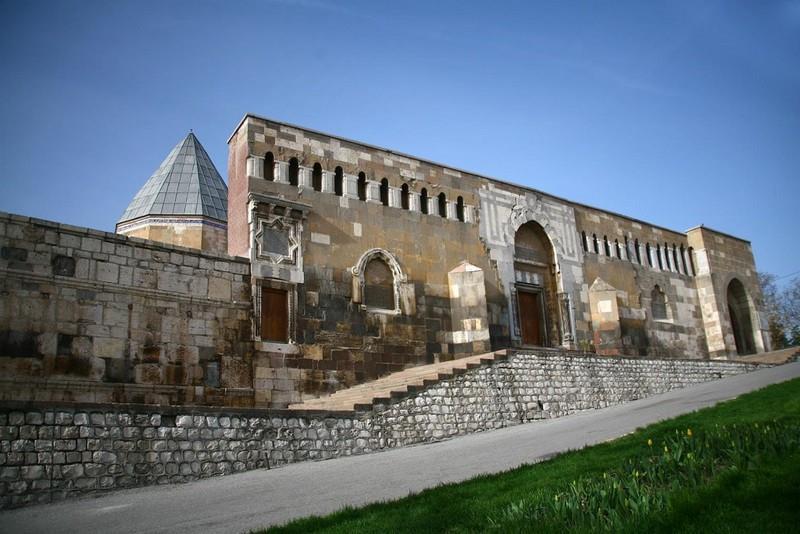 مسجد علاءالدین 4 - مسجد علاءالدین قونیه ترکیه