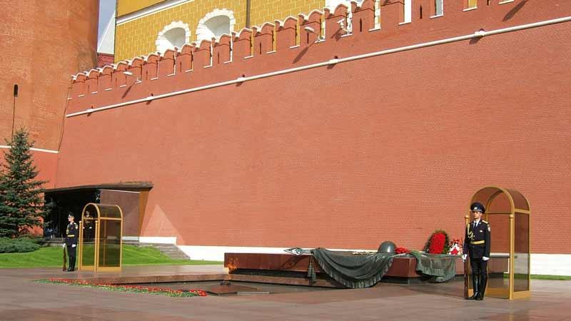 مقبره سرباز گمنام مسکو 2 - مقبره سرباز گمنام مسکو روسیه