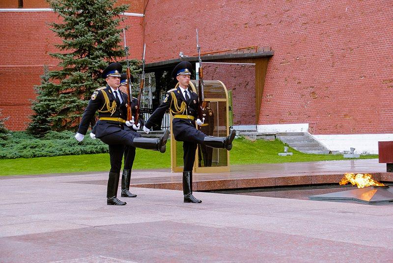 مقبره سرباز گمنام مسکو 3 - مقبره سرباز گمنام مسکو روسیه
