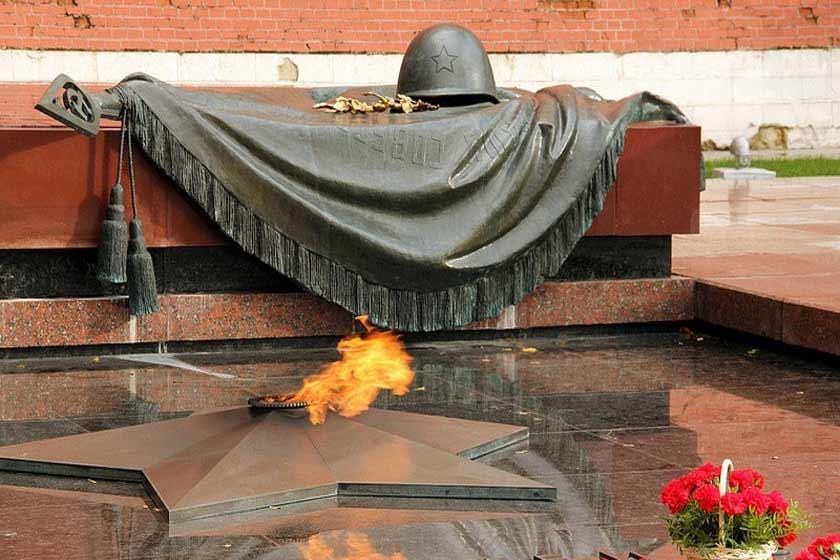 مقبره سرباز گمنام مسکو 4 - مقبره سرباز گمنام مسکو روسیه
