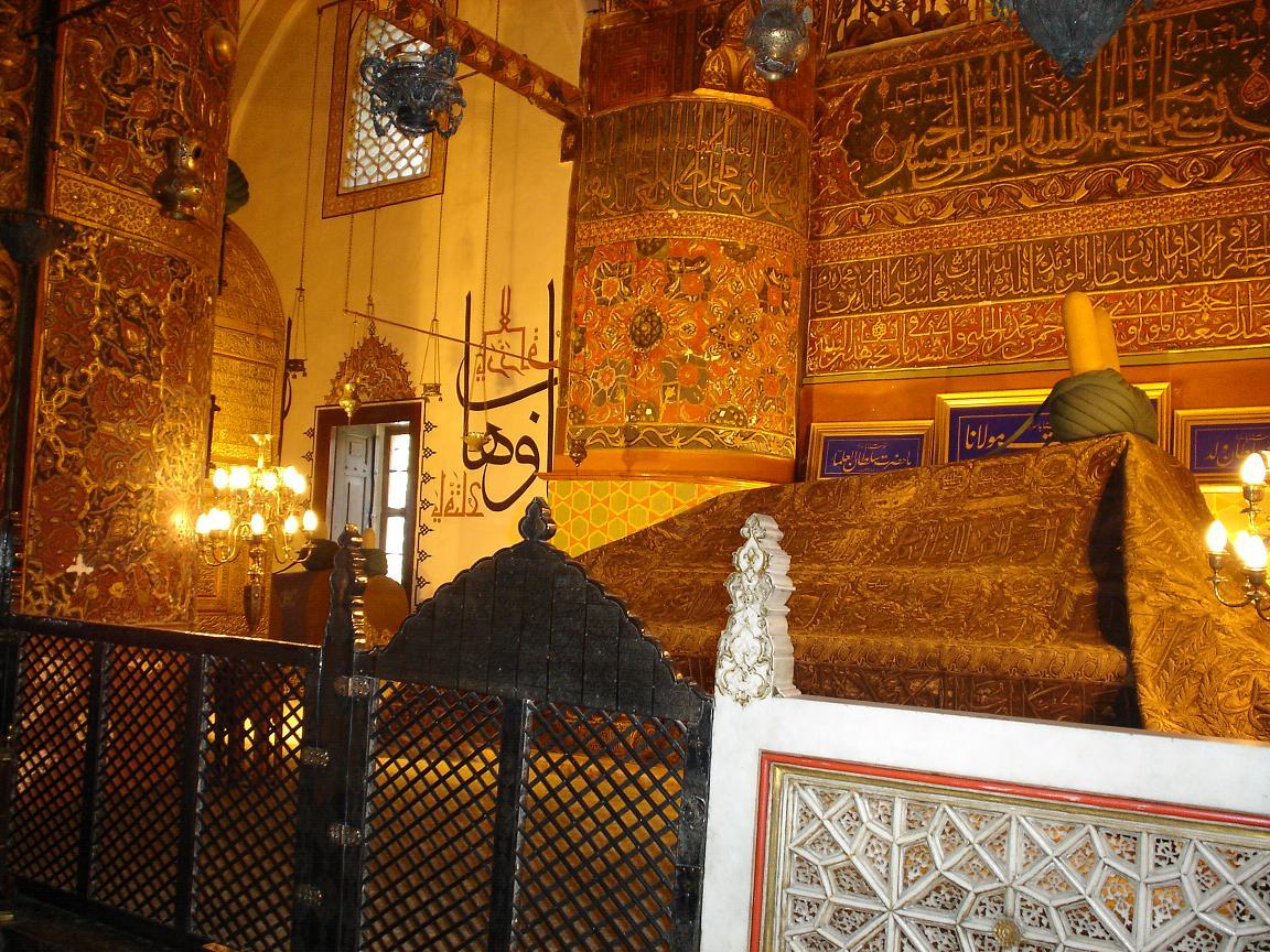 مقبره مولانا 3 - آرامگاه مولانا قونیه ترکیه