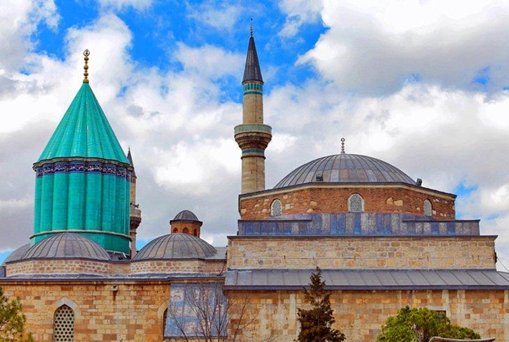 مقبره مولانا 4 - آرامگاه مولانا قونیه ترکیه