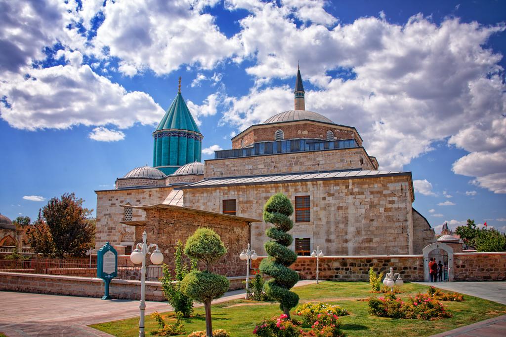 مقبره مولانا 5 - آرامگاه مولانا قونیه ترکیه