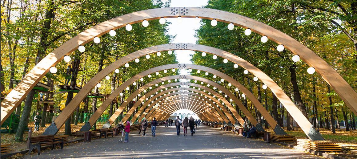 پارک سوکولنیکی مسکو 3 - پارک سوکولنیکی مسکو روسیه