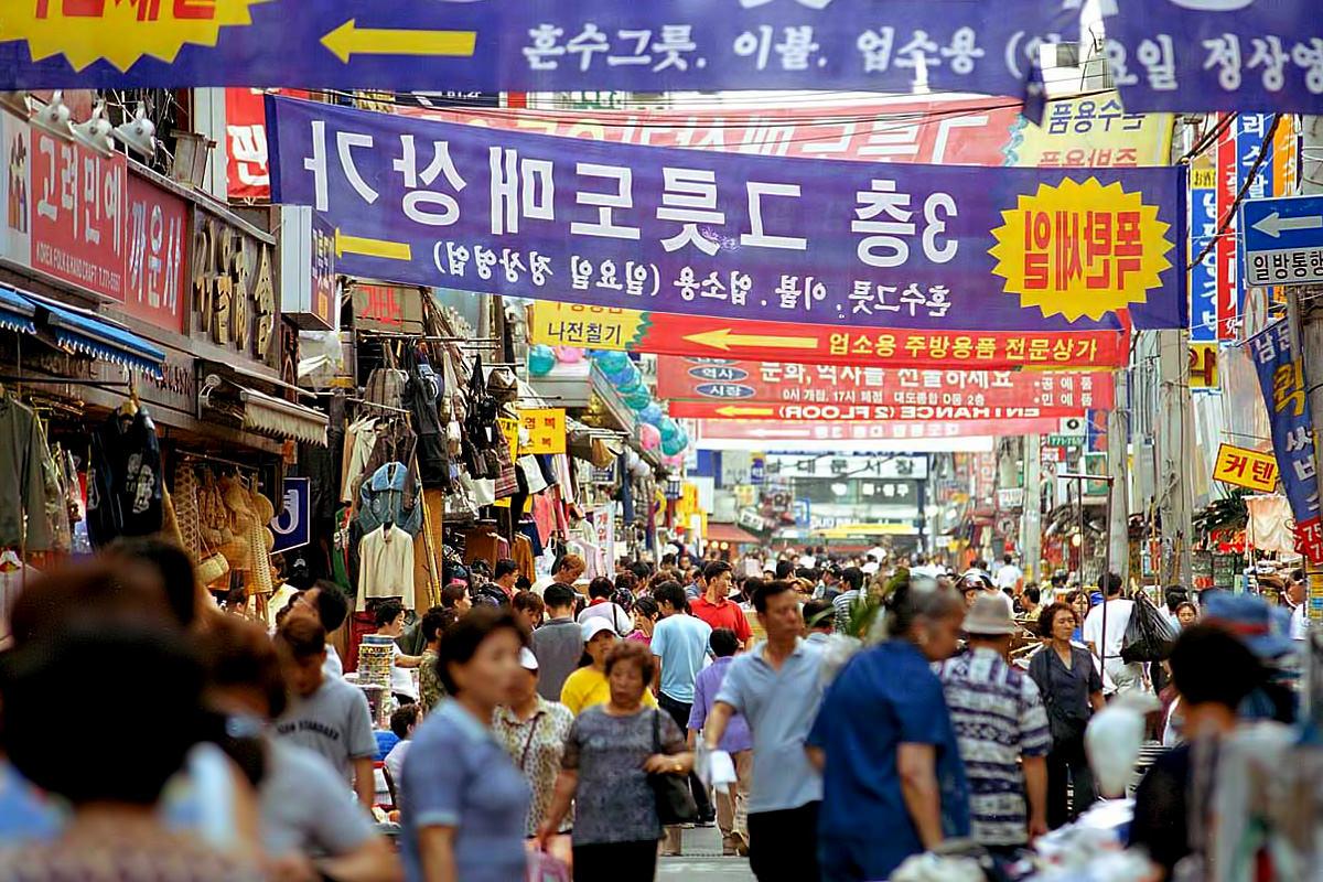 بازار دونگ دمون سئول 3 - بازار دونگ دمون سئول کره جنوبی
