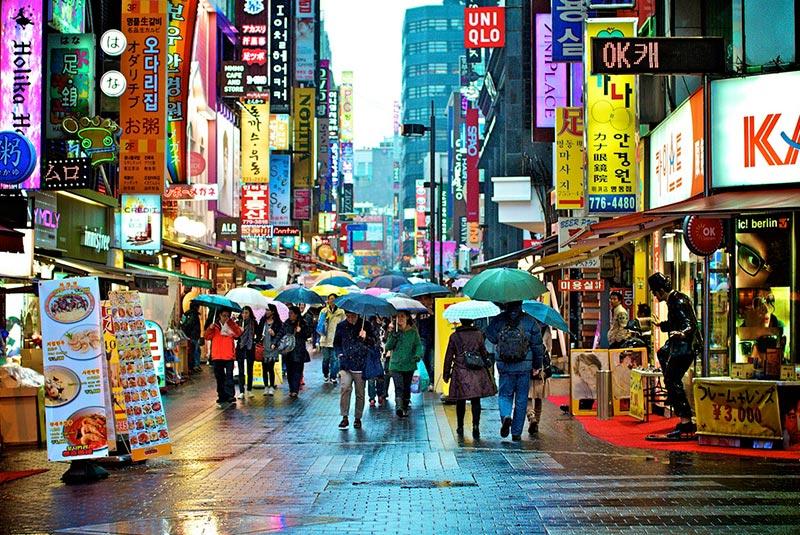 بازار میونگ دونگ 1 - بازار میونگ دونگ سئول کره جنوبی