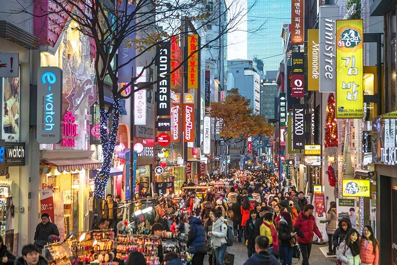 بازار میونگ دونگ 2 - بازار میونگ دونگ سئول کره جنوبی