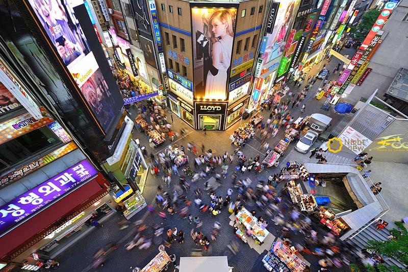 بازار میونگ دونگ 3 - بازار میونگ دونگ سئول کره جنوبی