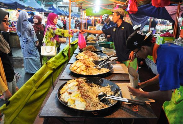 بازار پاسار مالام 1 - بازار پاسار مالام کوالالامپور مالزی