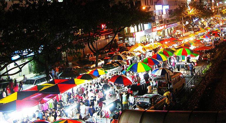 بازار پاسار مالام 2 - بازار پاسار مالام کوالالامپور مالزی