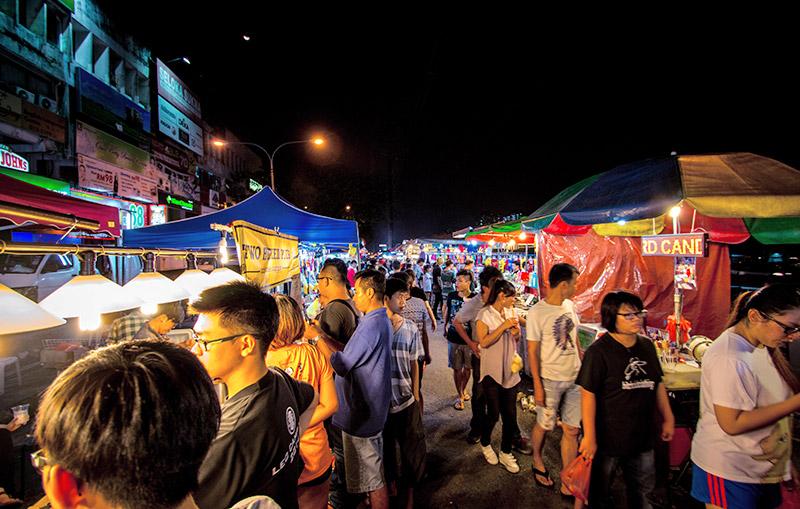 بازار پاسار مالام 3 - بازار پاسار مالام کوالالامپور مالزی