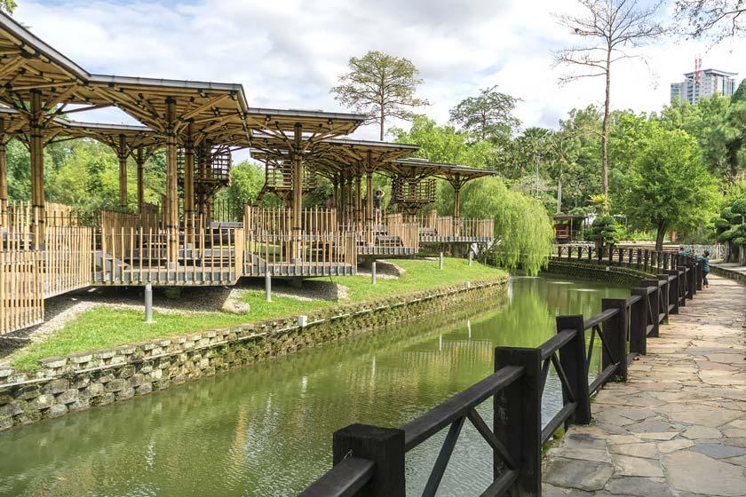 باغ دریاچه کوالالامپور مالزی