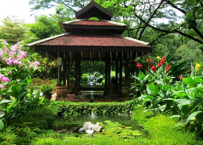 باغ گیاه شناسی پردانا 2 - باغ گیاه شناسی پردانا کوالالامپور مالزی