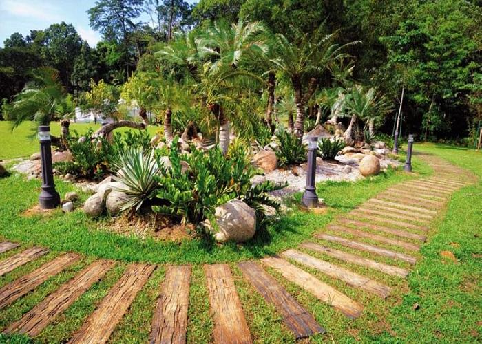 باغ گیاه شناسی پردانا 4 - باغ گیاه شناسی پردانا کوالالامپور مالزی