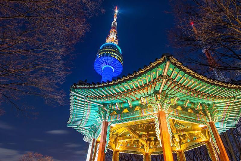 برج ان سئول 1 - برج ان سئول کره جنوبی