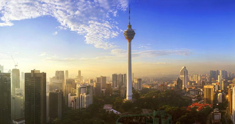 برج منارا کی ال کوالالامپور مالزی