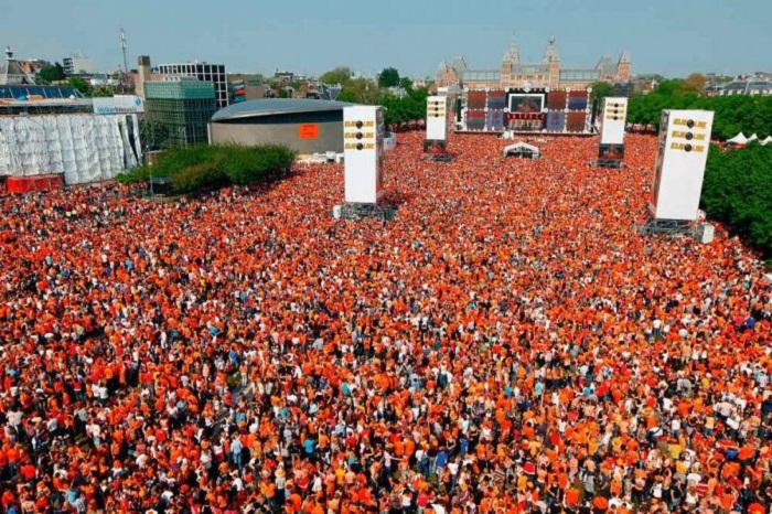 تولد پادشاه هلند - جشنواره روز نارنجی هلند 2019