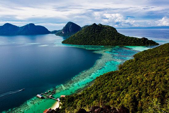 جزیره صباح 4 - شهرهای مالزی