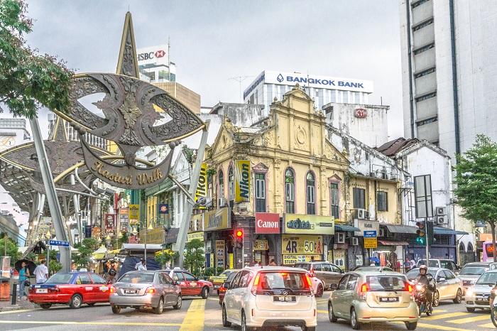 خیابان کاستوری واک 3 - خیابان کاستوری واک کوالالامپور مالزی