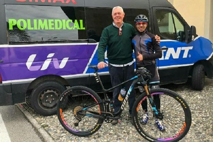 دوچرخه سوار ایرانی - دوچرخه سوار ملی پوش ایرانی در ایتالیا