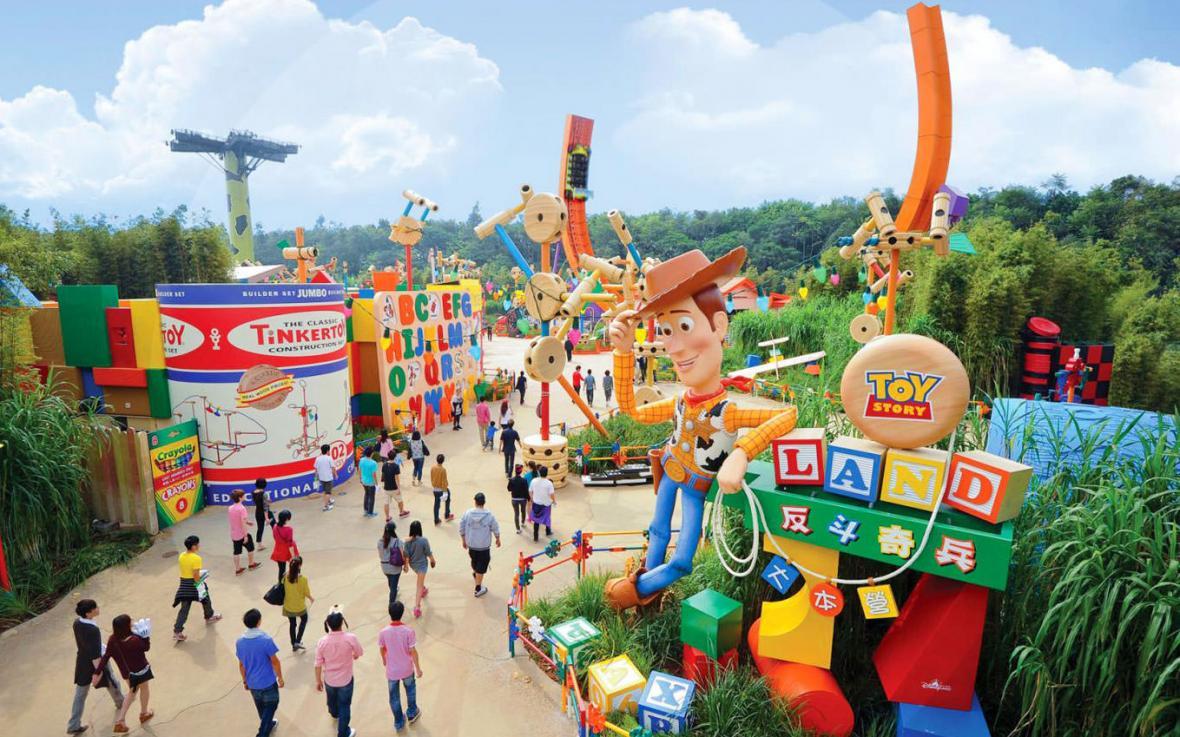 دیزنی لند هنگ کنگ 3 - دیزنی لند هنگ کنگ چین