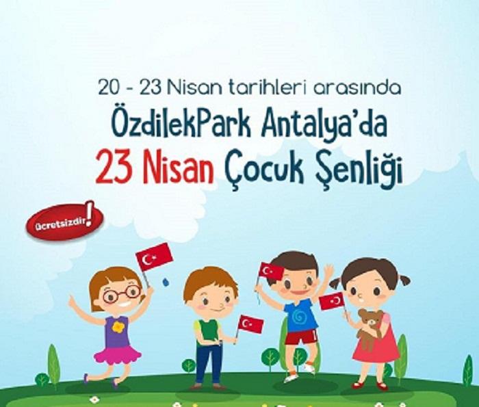 روز کودک آنتالیا - ویژه برنامه های روز کودک در آنتالیا 2019