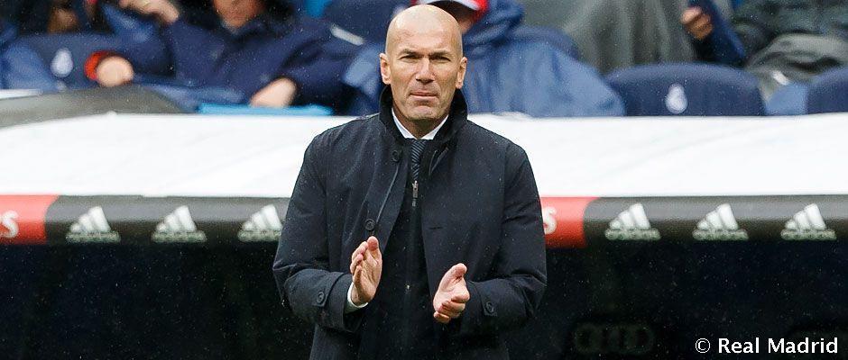 زیدان در رئال مادرید سه رقمی شد - زیدان در رئال مادرید سه رقمی شد
