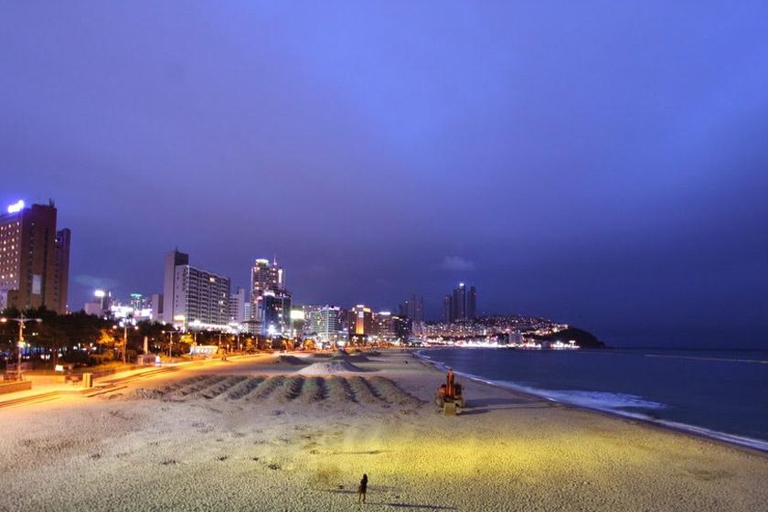 ساحل هیوندای 1 - ساحل هیوندای بوسان کره جنوبی