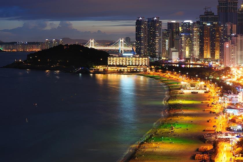 ساحل هیوندای 2 - ساحل هیوندای بوسان کره جنوبی