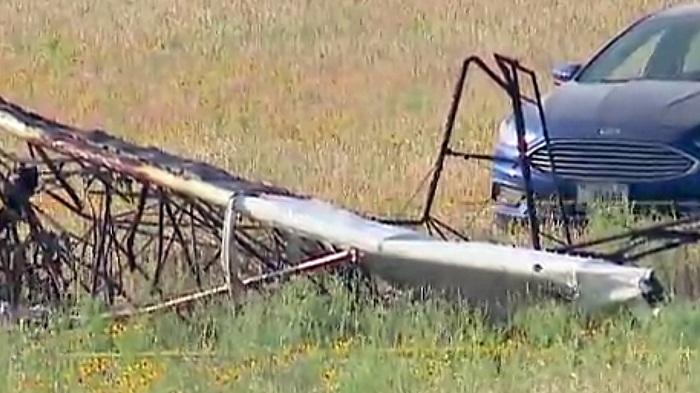 سقوط هواپیما تگزاس - سقوط هواپیما در تگزاس جان 6 نفر را گرفت