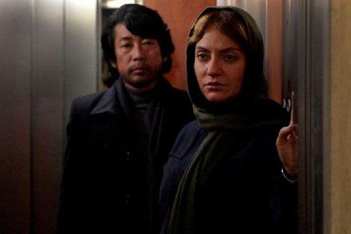 سینما ایران و ژاپن - تصویر مهناز افشار روی پوستر فیلم کارگردان ژاپنی
