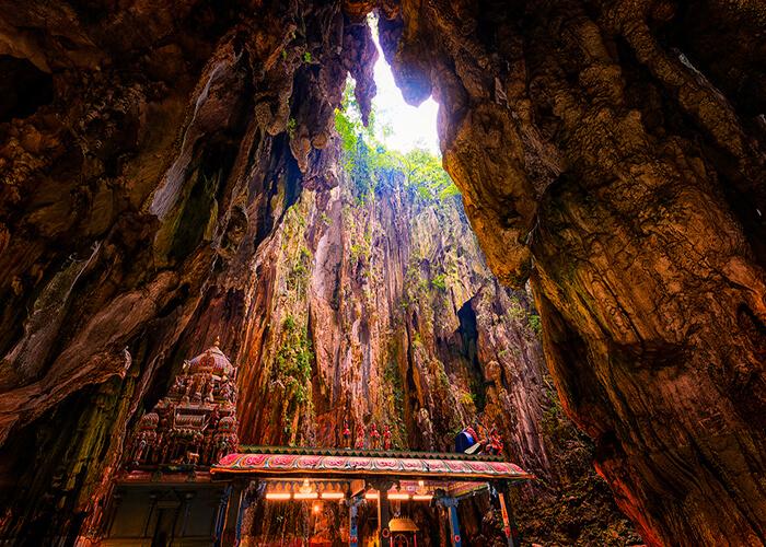 غار میمون ها کوالالامپور