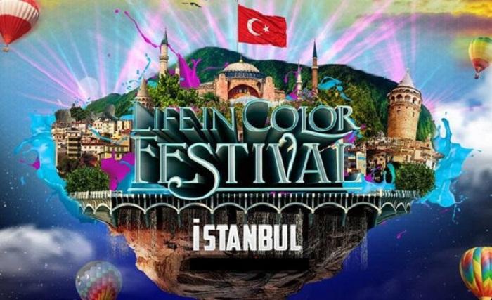 فستیوال رنگ استانبول - فستیوال رنگ استانبول 2019