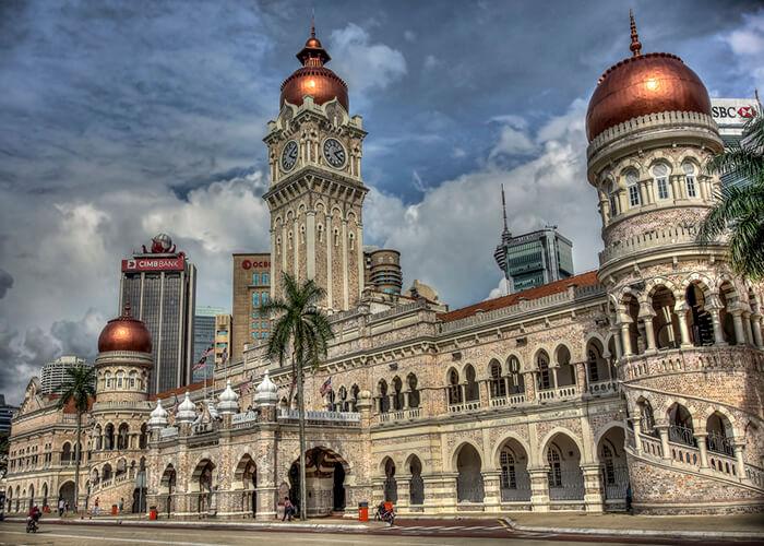 قصر سلطان عبدالصمد مالزی