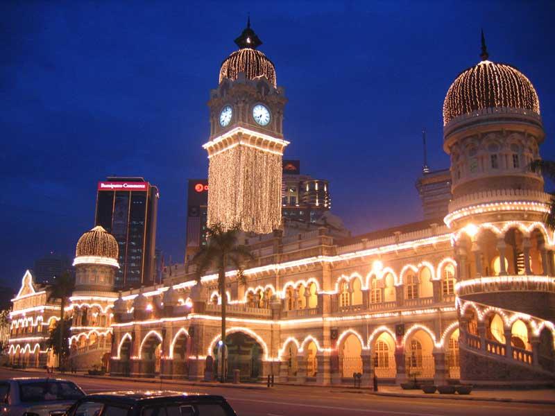قصر سلطان عبدالصمد 4 - مراکز تفریحی مالزی (کاملترین به زبان فارسی)