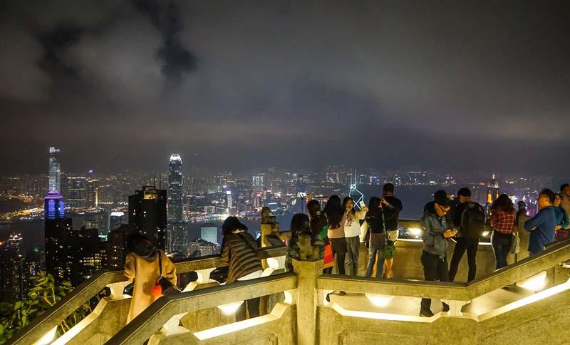 قله ویکتوریا 4 - قله ویکتوریا هنگ کنگ چین